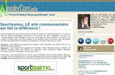 Wondercom.info cite Sportissimo en exemple