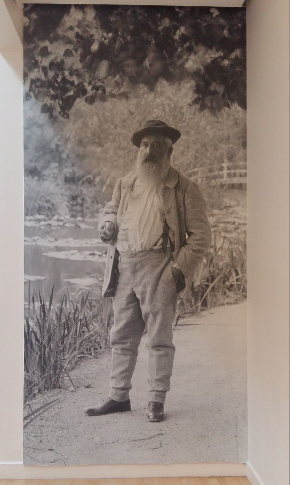 Papy Monet à Giverny