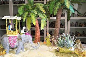 Tuto pour la crèche : comment faire un palmier pour une crèche orientale
