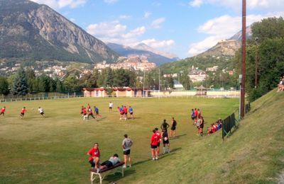 Le Rugby Club Toulonnais en stage dans le Briançonnais !