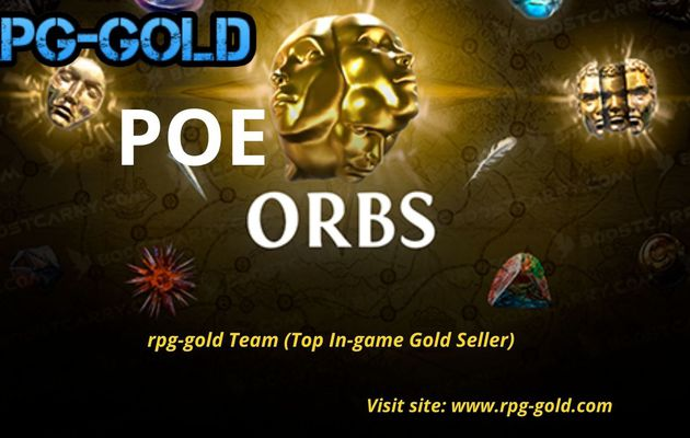 Buy Cheap POE Orb & Currency at RPG GOLD