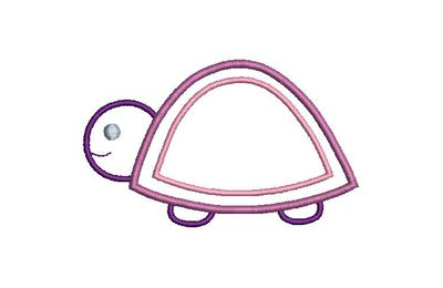BRODERIE TORTUE APPLIQUE
