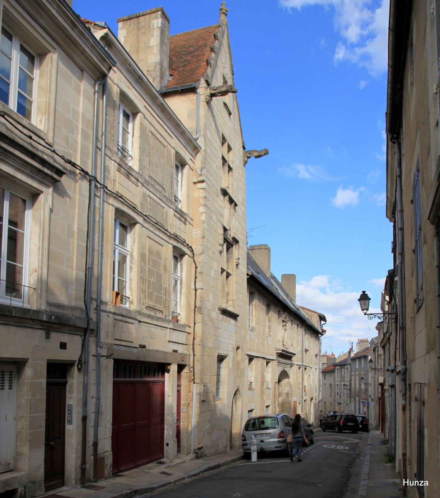 Poitiers, maison des Trois Clous