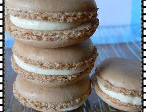 macarons tiramisu-caramel au beurre salé