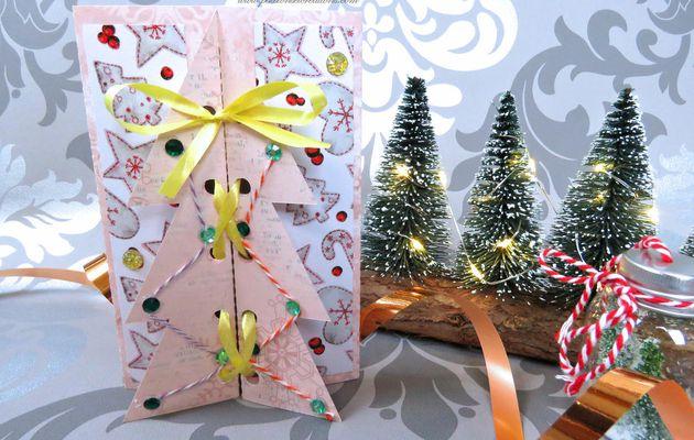 {Scan N Cut} Réaliser : Un menu pour Noël...