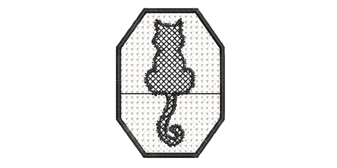 BRODERIE CHAT ASSIS