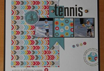 """Page """"Tennis"""""""