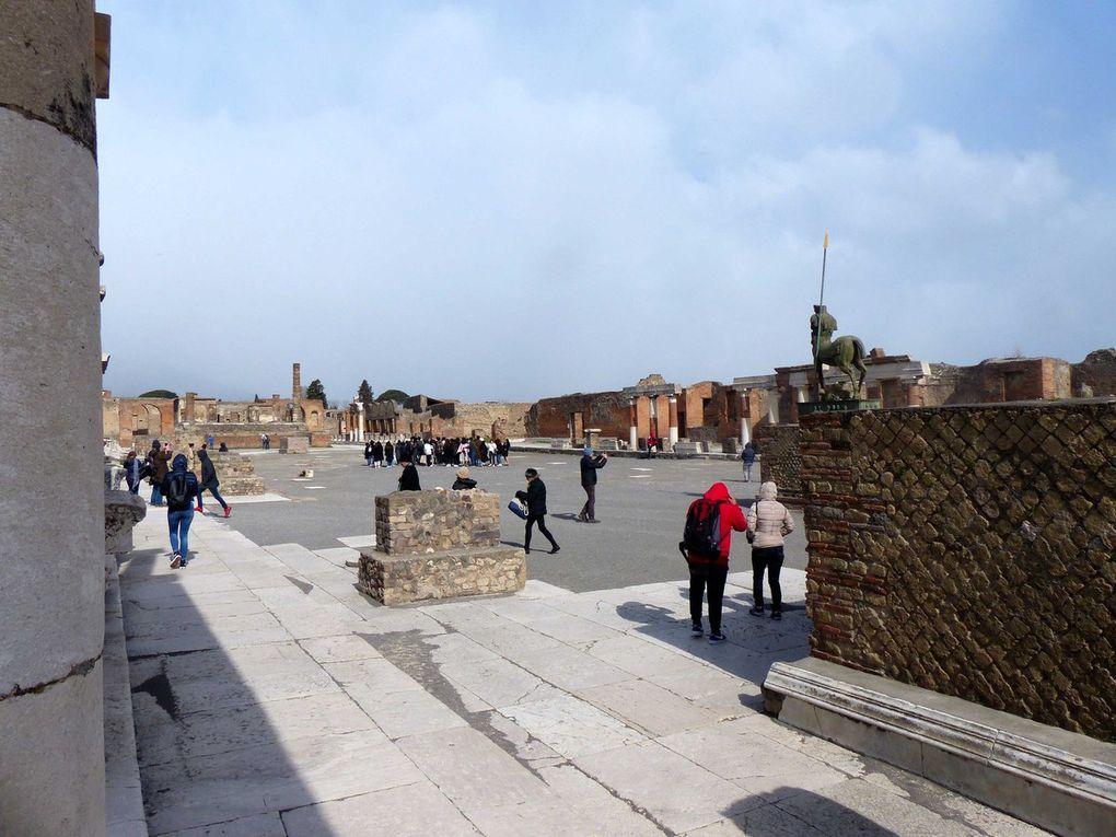 Italie, Pompéi, Matera,