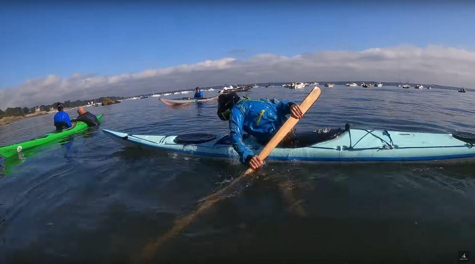 CK/mer : initiation au roll groenlandais