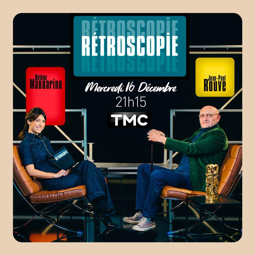 Jean-Paul Rouve inaugure la « Rétroscopie » d'Hélène Mannarino ce soir sur TMC