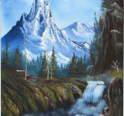 Bob Ross - The Joy Of Painting - Royal Majesty - Video.