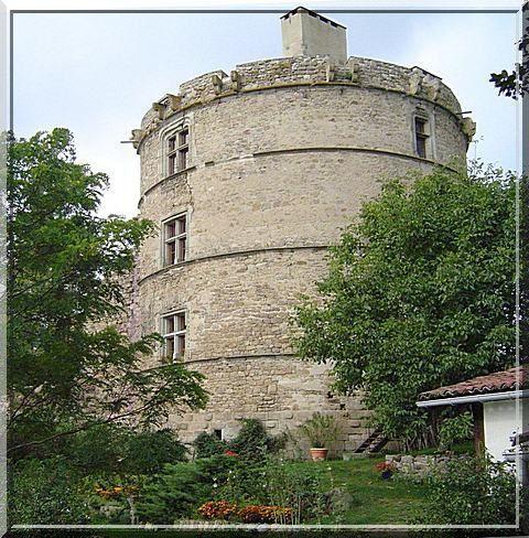 Diaporama château d'Estandeuil à La Rochette