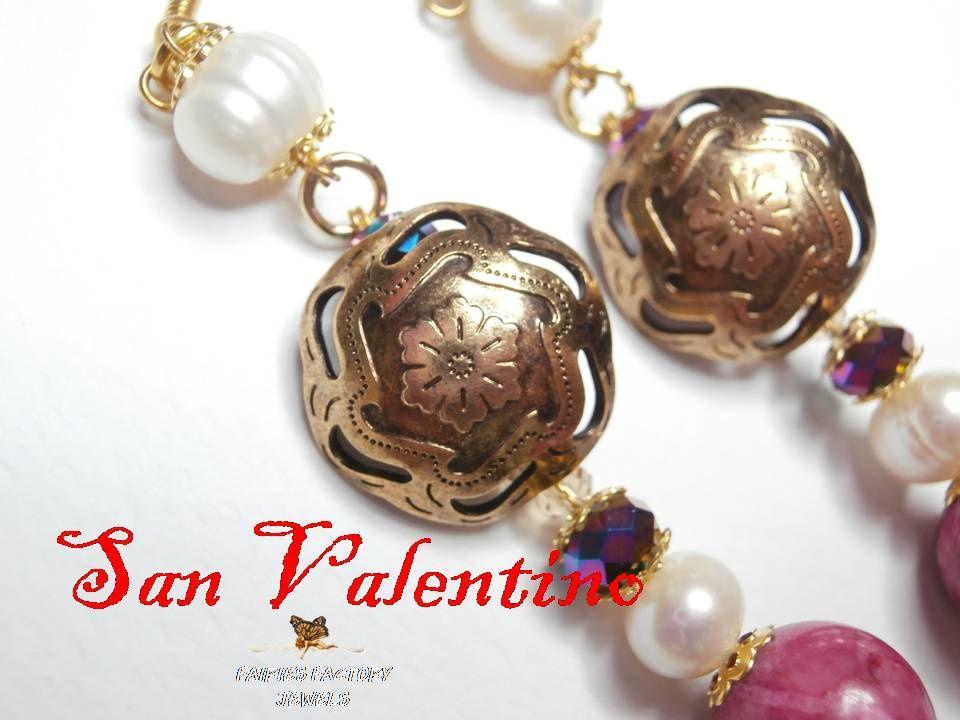 Un regalo speciale per festeggiare la festa più romantica dell'anno... by Fairies Factory Jewels
