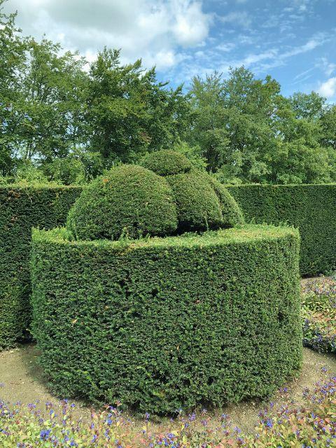 Château Hautefort les jardins