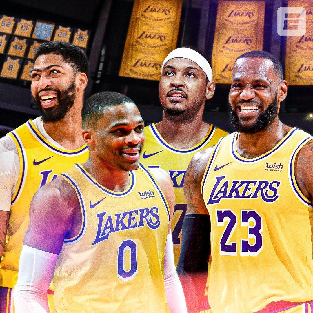 Carmelo Anthony s'engage avec les Lakers pour une saison
