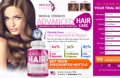 New Glo Hair:  [read Side Effects] Hair Growth Ingredients & Price
