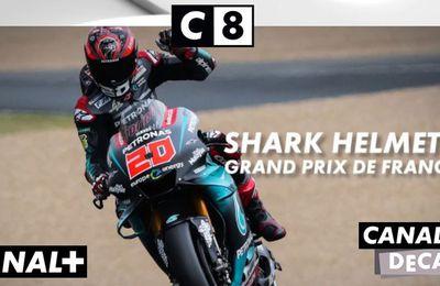 Le Grand Prix de France Moto en direct ce dimanche sur C8 et les antennes de Canal Plus !