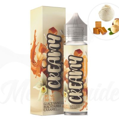 Test - Eliquide - Creamy Macadamia de chez Abalon