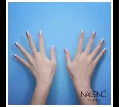 Nails Inc: Le vernis à ongles en spray