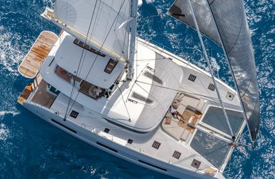 Lagoon present at the 2021 Barcelona Boat Show with 4 catamarans