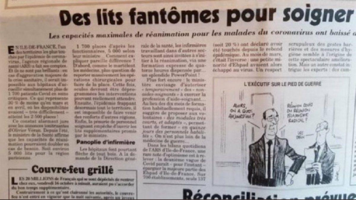 Hôpitaux: En un an de pandémie, le gouvernement a supprimé 25% des lits de réanimation en Ile-de-France