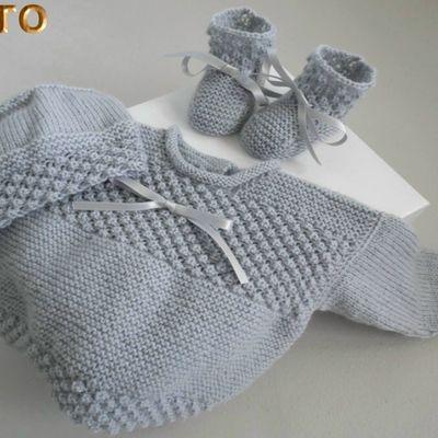 Tutoriel trousseau astrakan bébé gris ou bleu