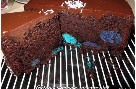 Happy Birthday, Gâteau surprise au chocolat