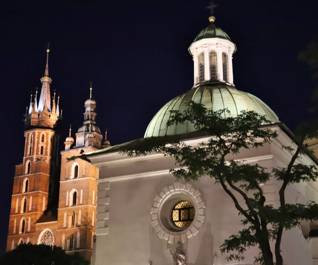 Cracovie by night Pologne