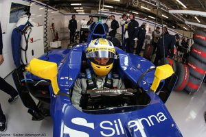Interproteccion reste chez Sauber