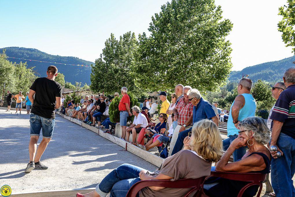 Retour sur la semaine bouliste de la fête de St André les Alpes 2017