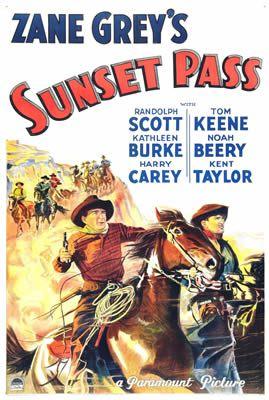 Sunset Pass de Henry Hathaway