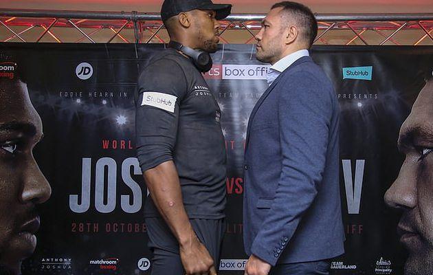 Mise à jour: Le boxeur bulgare, Kubrat Pulev, s'excuse après avoir été accusé de racisme pour ses commentaires sur la couleur de peau d'Anthony Joshua