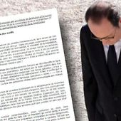 Le document qui circule à l'Assemblée pour destituer Hollande