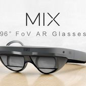 MIX: The Smallest AR Glasses with 96 degree FoV