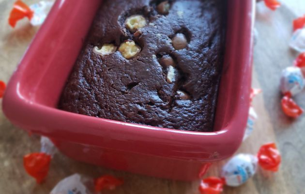 Cake chocolat et à la compote de pommes