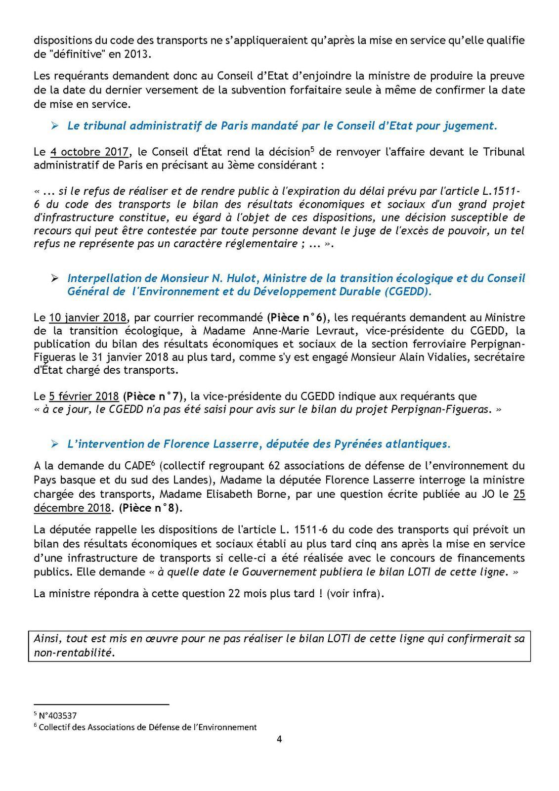 La ligne à grande vitesse Perpignan-Figueras : la gestion calamiteuse par l'Etat d'un fiasco