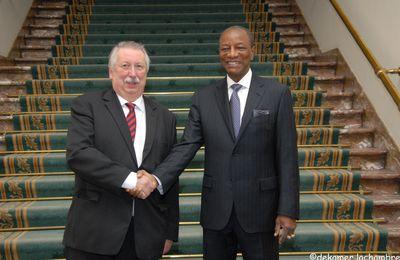 Rencontre avec le Président de la République de Guinée