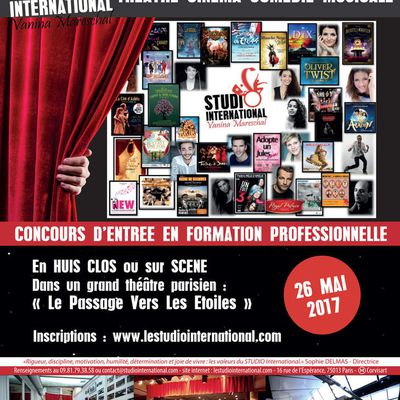 Audition Formation Professionnelle !