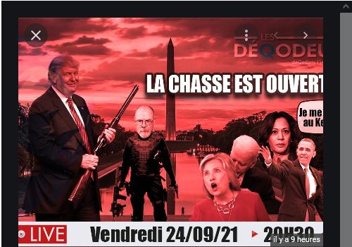 Les DéQodeurs Live du 24 septembre 2021 - La chasse est ouverte !