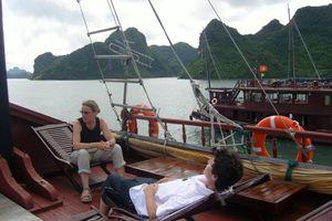 J17 – Samedi 1er août 2009 – Baie d'Along - Hanoï