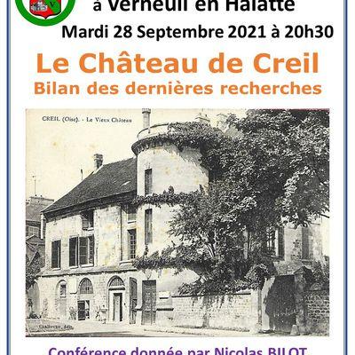 Le Château de Creil : bilan des dernières recherches par Nicolas Bilot