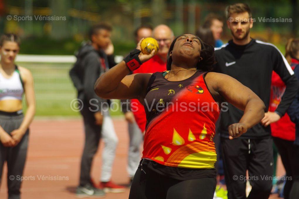 Les athlètes de l'AFA Feyzin-Vénissieux ont fini 5ème du premier tour des interclubs de N2