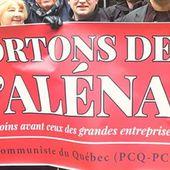 Un nouvel ALENA qui resserre les griffes des entreprises sur les travailleuses et les travailleurs - Déclaration du Parti communiste du Canada - Solidarité Internationale PCF