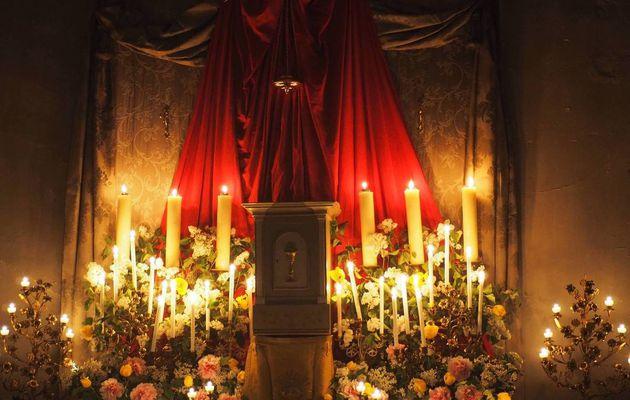 Adoration au reposoir le jeudi Saint