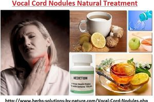 Vocal Cord Nodules Natural and Herbal Treatment