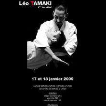 Léo Tamaki à Herblay, 17 et 18 janvier