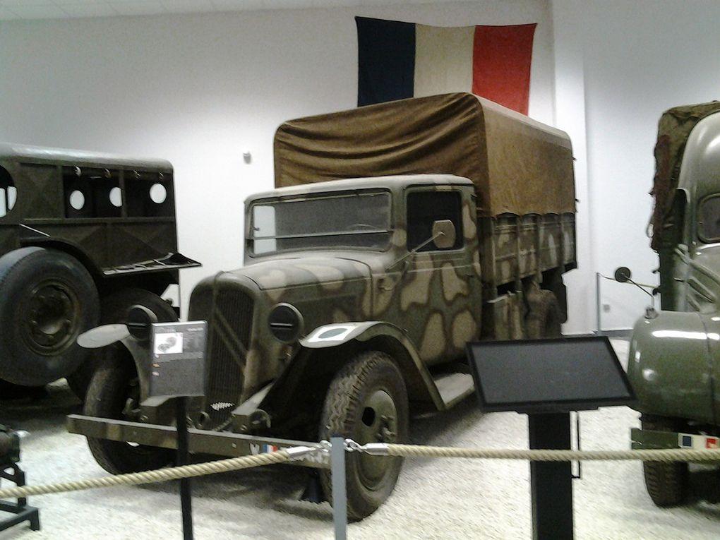 MUSEE sur la SECONDE GUERRE MONDIALE a LA WANTZENAU - LES VEHICULES -