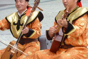 Musiciens à Beaubourg