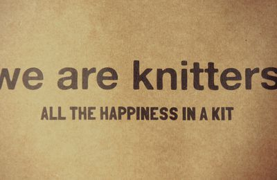 They are knitters. So am I.