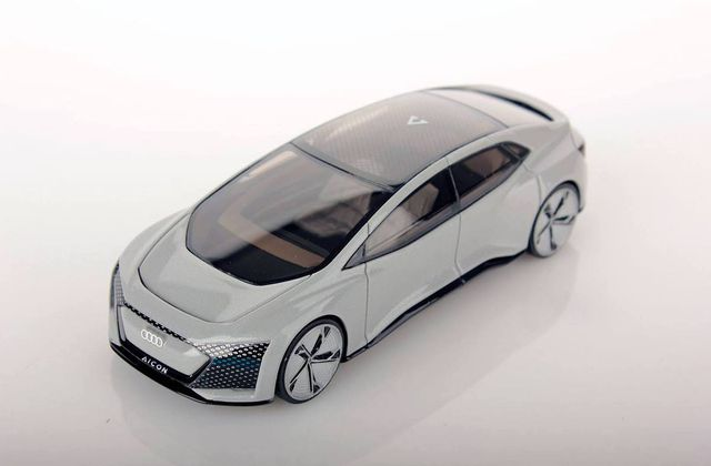 1/43 : Le prototype Audi Aicon enfin disponible en miniature